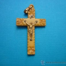 Antigüedades: COLGANTE - ANTIGUO CRUCIFIJO - 6. CM. . Lote 33705568