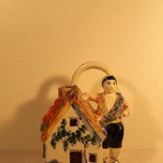 Antigüedades: BOTIJO MANISERO CON VALENCIANO Y BARRACA. Lote 34080755