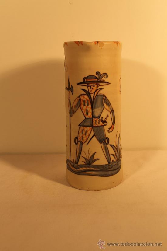 JARRA CERAMICA TALAVERA ALFAR TALABRICENSE (Antigüedades - Porcelanas y Cerámicas - Talavera)