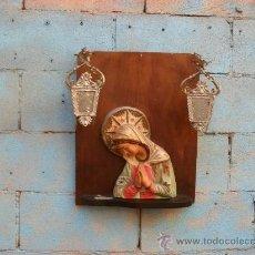 Antiques - antigua pieza religiosa,virgen,grande,años 40 - 33701862