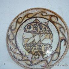Antigüedades: PLATO GRANDE DE CERAMICA. Lote 33717885