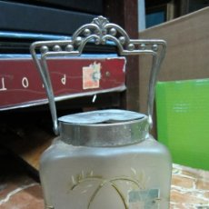 Antiquitäten - Cesta de Cristal Modernista - 33738113