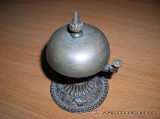 TIMBRE DE RECEPCIÓN FRANCÉS, DE INÍCIOS DEL SIGLO XX (Antigüedades - Hogar y Decoración - Campanas Antiguas)
