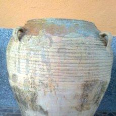 Antigüedades: ANTIGUA ORZA U TINAJA DE CUATRO ASAS. PRECIOSA.. Lote 33756173
