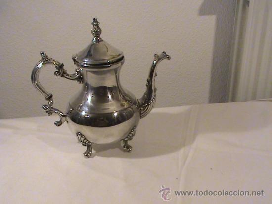 Antigüedades: Antigua cafetera de la compañía de la Plata F.B Rogers - Foto 8 - 33760411