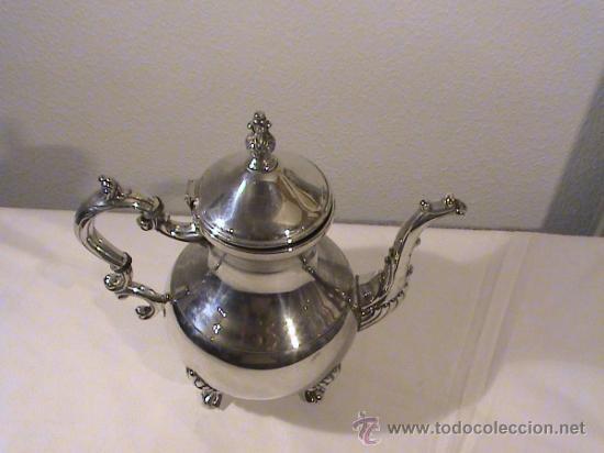 Antigüedades: Antigua cafetera de la compañía de la Plata F.B Rogers - Foto 3 - 33760411
