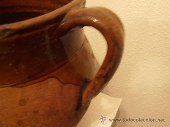 Antigüedades: VASIJA DE BARRO, POTE , OLLA, - Foto 3 - 33772802