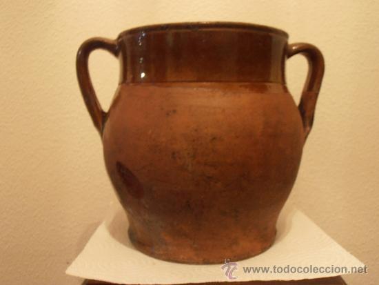 Antigüedades: VASIJA DE BARRO, POTE , OLLA, - Foto 5 - 33772802
