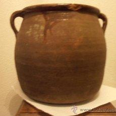Antigüedades: ANTIGUA VASIJA DE BARRO, POTE, OLLA. Lote 33772827