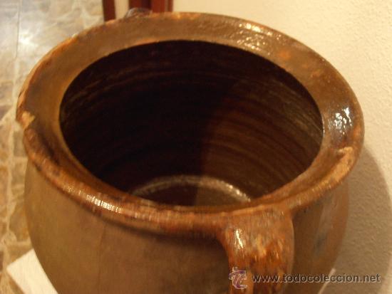 Antigüedades: ANTIGUA VASIJA DE BARRO, POTE, OLLA - Foto 2 - 33772827