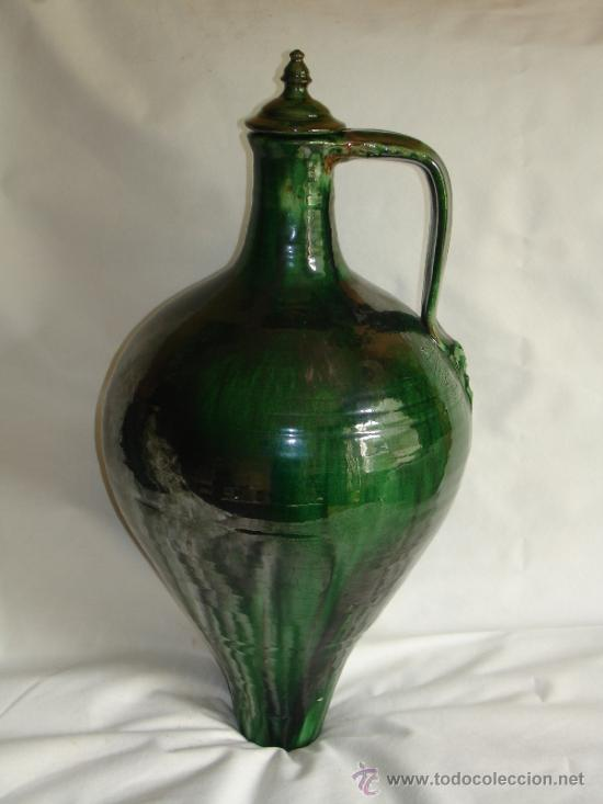 CANTARO VIDRIADO DE UBEDA - JAEN (Antigüedades - Porcelanas y Cerámicas - Úbeda)