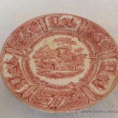 Antigüedades: PLATO DE SARGADELOS. FAMILIA ROSA. . Lote 33780501