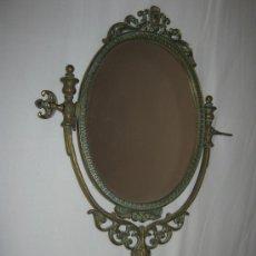 Antiquités: ANTIGUO ESPEJO DE BRONCE. Lote 33780863