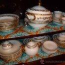 Antigüedades: VAJILLA SANTA CLARA Y JUEGO DE CAFÉ. Lote 33808647