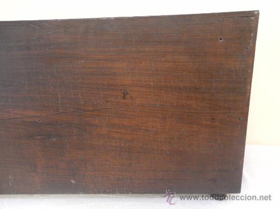 Antigüedades: Arquilla papelera. Hispano filipina. Siglo XVIII. De jacaranda o palisandro de rio, con marquetería - Foto 34 - 33780861