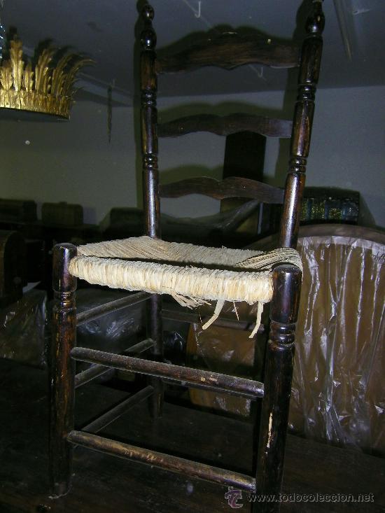Antigüedades: SILLA TIPO SEVILLANA DE ANEA - Foto 3 - 33795841