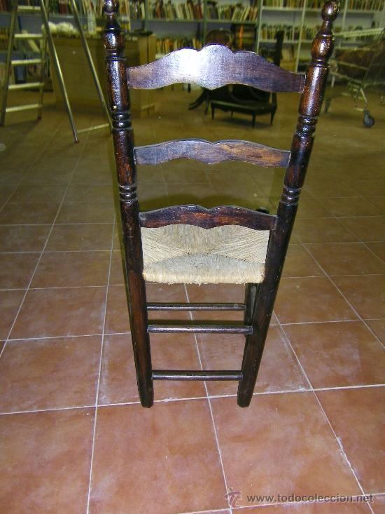 SILLA TIPO SEVILLANA DE ANEA (Antigüedades - Muebles Antiguos - Sillas Antiguas)