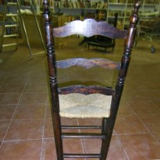 Antigüedades: SILLA TIPO SEVILLANA DE ANEA. Lote 33795841