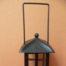 Antigüedades: LAMPARA PARA UNA VELA.. Lote 33807302