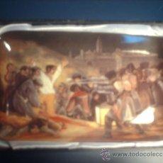 Antigüedades: BANDEJA DE PORCELANA CONMEMORATIVA DEL LOS FUSILAMIENTOS DEL 3 DE MAYO. Lote 33808160