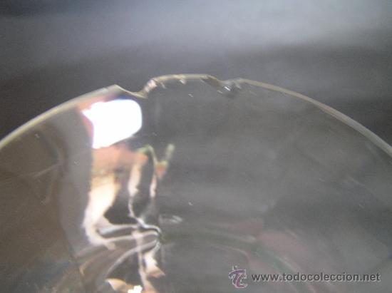 Antigüedades: Preciosa Copa de cristal soplado bicolor siglo XIX. Quizás La Granja. - Foto 8 - 33817537