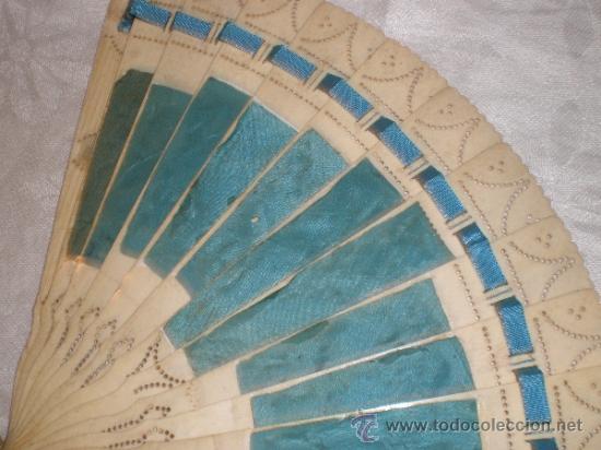 Antigüedades: abanico de hueso - Foto 8 - 33829037