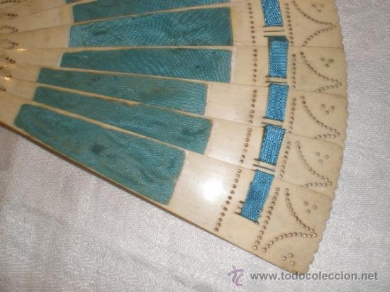 Antigüedades: abanico de hueso - Foto 7 - 33829037
