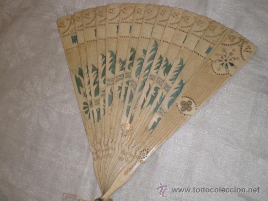 Antigüedades: abanico de hueso - Foto 6 - 33829037