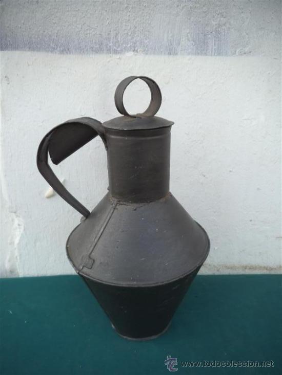 CANTAR DE LATON ORIGINAL (Antigüedades - Técnicas - Rústicas - Utensilios del Hogar)