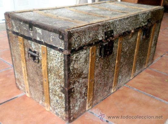 baul o arca principios siglo xix por restaurar comprar
