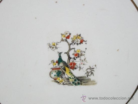 Antigüedades: pareja de platos de san claudio oviedo - Foto 4 - 33941240