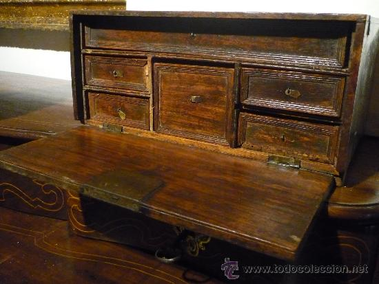 ARQUILLA INDOPORTUGUESA.FINALES SIGLO XVIII. (Antigüedades - Muebles Antiguos - Bargueños Antiguos)