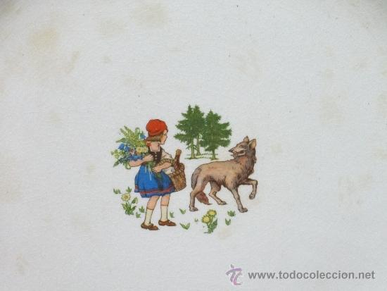 Antigüedades: pareja de platos de san claudio oviedo - Foto 5 - 33941416