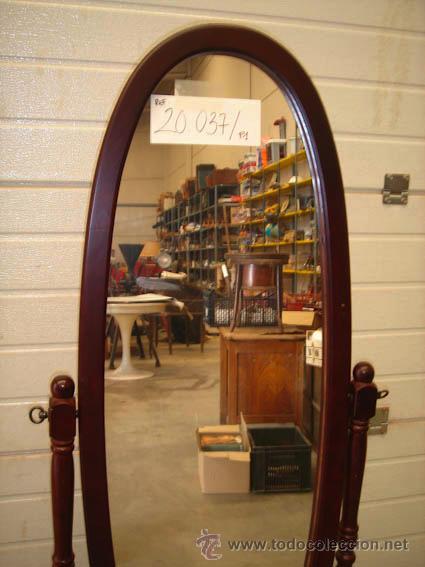 Espejo de cuerpo entero 1 5 m t de alto comprar espejos for Espejo cuerpo entero con pie