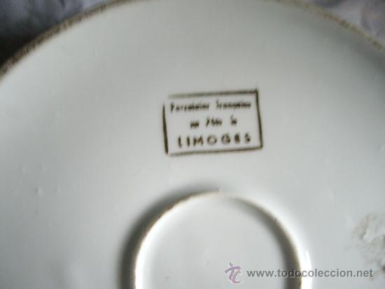 Antigüedades: JOYERO DE PORCELANA LIMOGES PINTADO A MANO Y FIRMADO 15 CTM - Foto 4 - 33947085