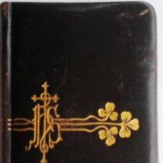 Antigüedades: MISAL MODERNISTA, PRINCIPIOS DEL SIGLO XX, OFICIO DIVINO, PRECIOSO¡¡¡. Lote 33956780