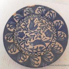 Antigüedades: PLATO DE CERÁMICA. SIGLO XIX. FAJALAUZA.. Lote 33968074