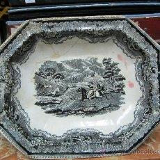 Antigüedades: LEGUMBRERA DE CERAMICA DE CARTAGENA SIGLO 19. Lote 33984433