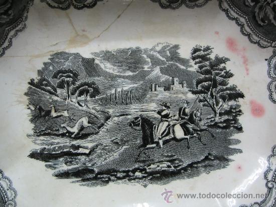 Antigüedades: legumbrera de ceramica de cartagena siglo 19 - Foto 3 - 33984433
