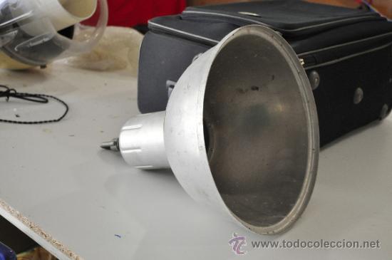Antigüedades: LAMPARA TIPO INDUSTRIAL, TAMAÑO PEQUEÑO, NO MUY GRANDE - Foto 2 - 33987990