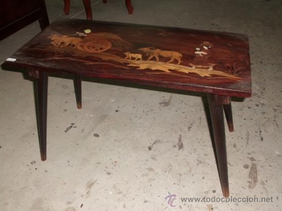 Peque a mesa de centro comprar mesas antiguas en for Mesas de centro antiguas