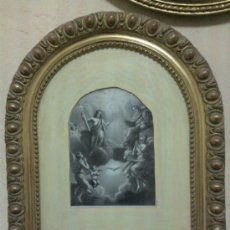 Antigüedades: ANTIGUO MARCO DORADO DEL SIGLO XIX. Lote 33997306