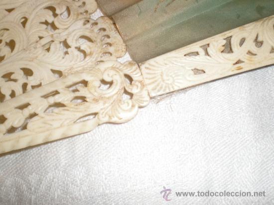 Antigüedades: abanico de hueso - Foto 4 - 34011574