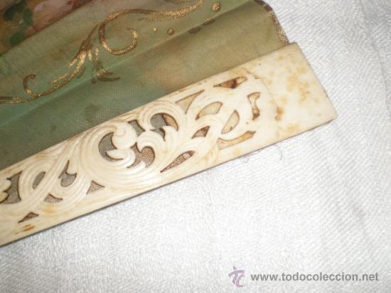 Antigüedades: abanico de hueso - Foto 6 - 34011574