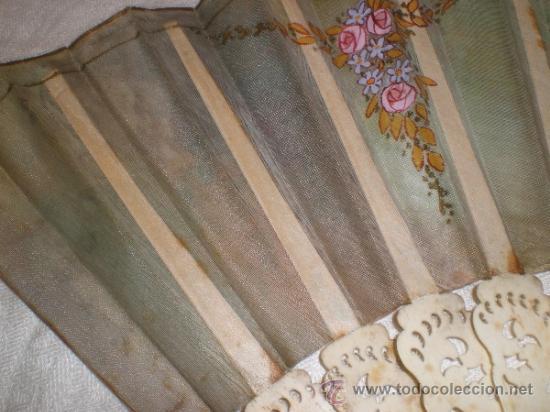 Antigüedades: abanico de hueso - Foto 10 - 34011574