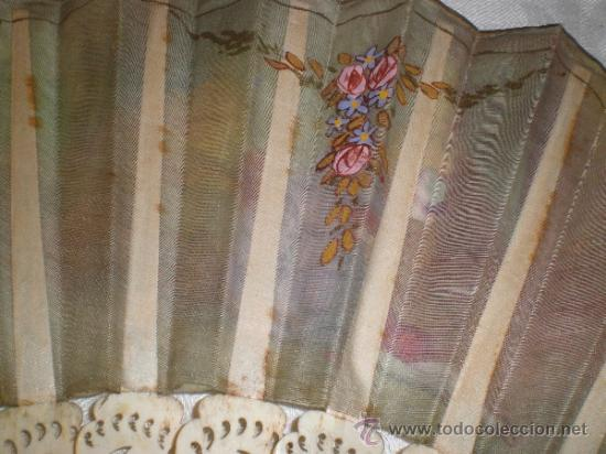 Antigüedades: abanico de hueso - Foto 11 - 34011574