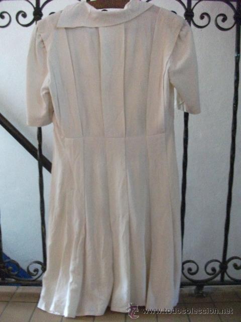Antigüedades: Vestido de percal para jovencita - IMPECABLE - Años 25/30 - Foto 10 - 34026786