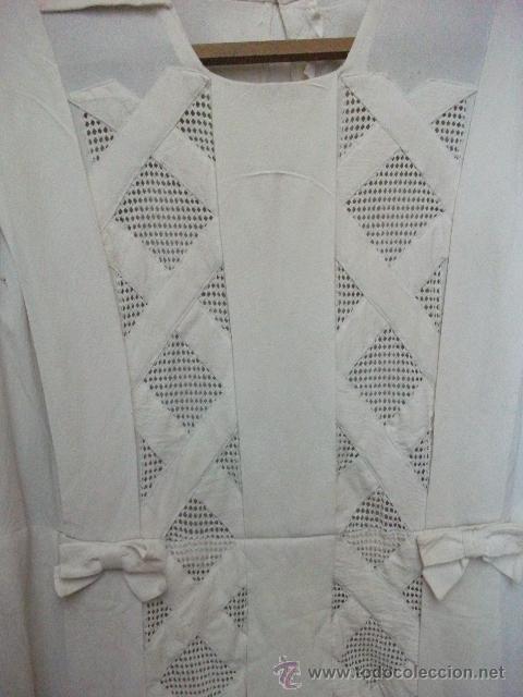 Antigüedades: Vestido de percal para jovencita - IMPECABLE - Años 25/30 - Foto 5 - 34026786