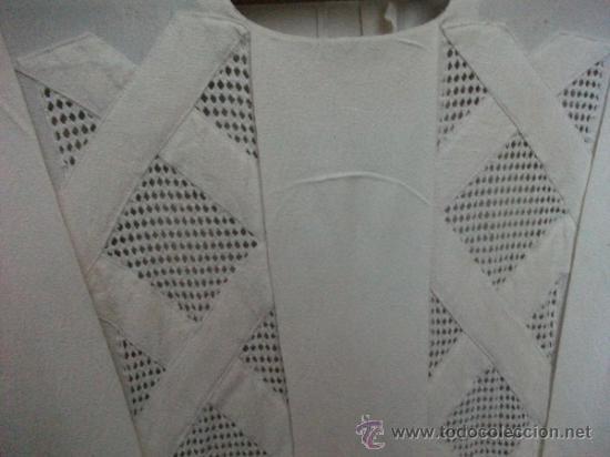 Antigüedades: Vestido de percal para jovencita - IMPECABLE - Años 25/30 - Foto 6 - 34026786