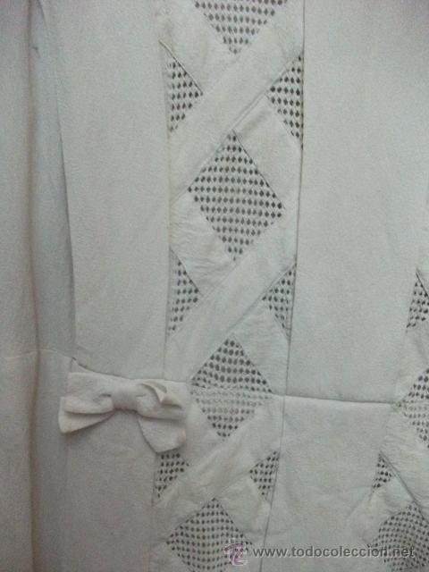 Antigüedades: Vestido de percal para jovencita - IMPECABLE - Años 25/30 - Foto 7 - 34026786